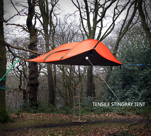 Tensile Stingray Tent combines the comfort and versatility of a hammock  with the comfort and security of a tent. The versatile Tensile provides  comfortable ... - Gift Ideas The Outdoorsman