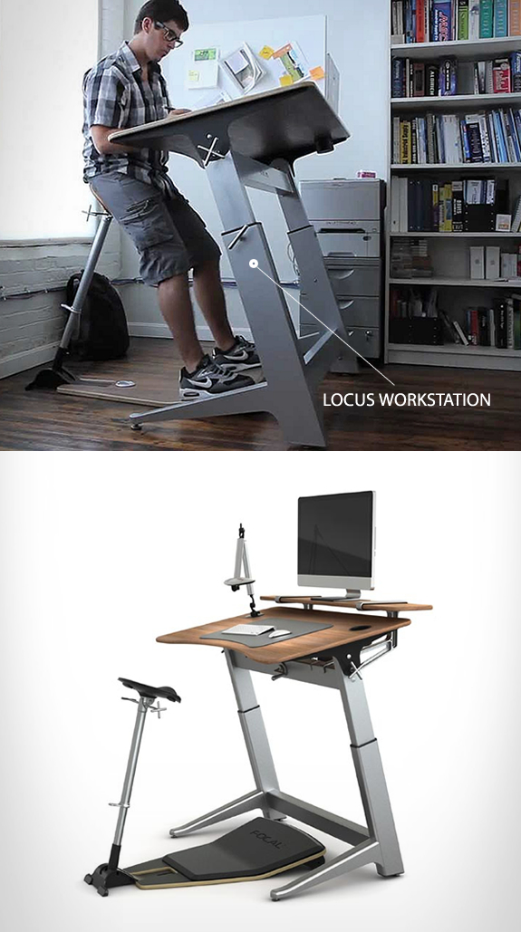 The Locus Workstation Is An Ergonomic Standing Desk That Both Height And Incline Adjule Used With Seat You Ll Enjoy All Health
