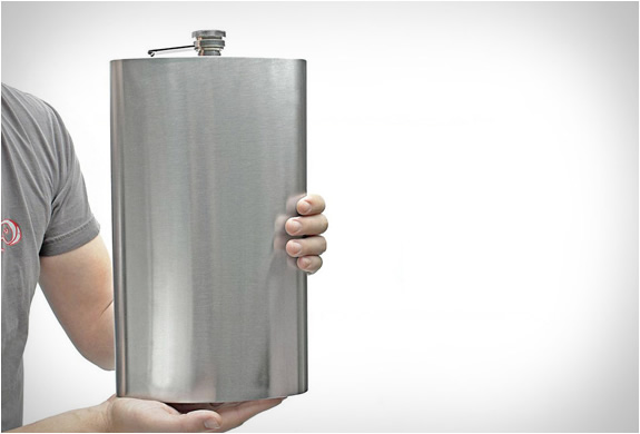1 Gallon Stainless Steel Flask | Image