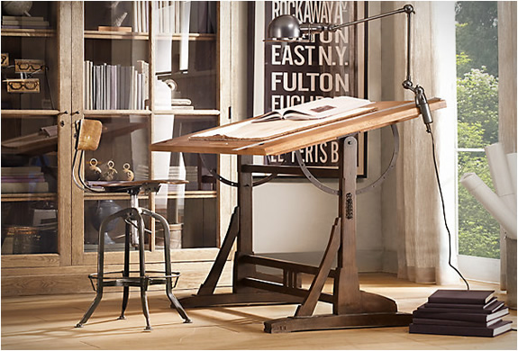 1920s French Drafting Table | Image