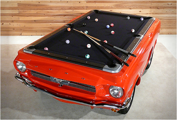 Thread Crazy Ford Mustang Pool Table
