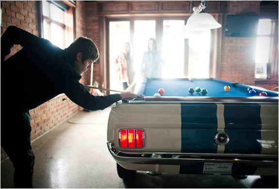 1965 Shelby Gt-350 Pool Table | Image