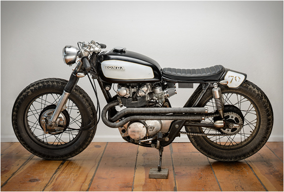 1970 HONDA CL450 | BY SPIN CYCLE INDUSTRIES | Image