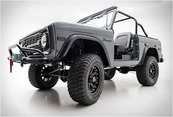 1971 Ford Bronco Custom For Sale