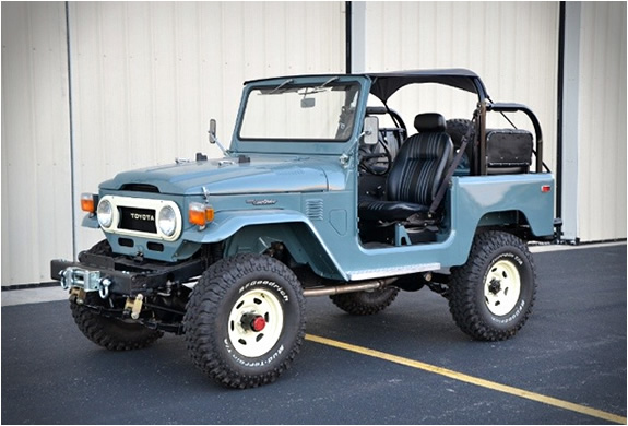 FULLY-RESTORED 1978 TOYOTA LAND CRUISER FOR SALE | Image