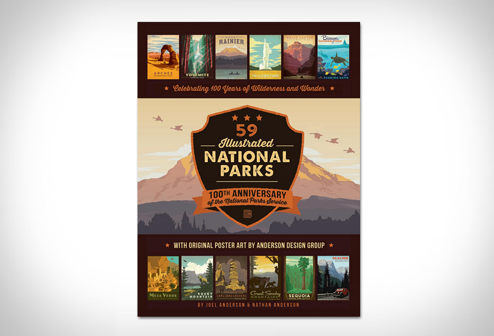 59 Illustrated National Parks | Image