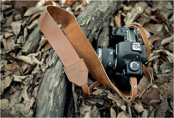 VINTAGE LEATHER CAMERA STRAPS | BY A7 | Image