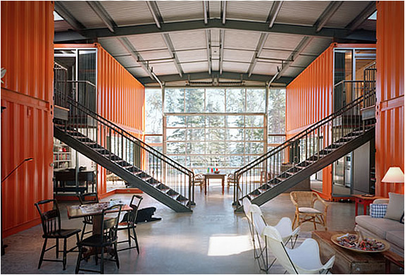 Uncontainable Beauty: Shipping Container Homes