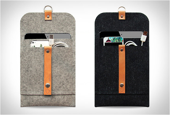 Handmade Wool Ipad Mini Sleeves | Image