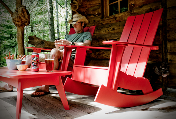 Loll Designs Adirondack Chair : ADIRONDACK ROCKER  BY LOLL DESIGNS  Image