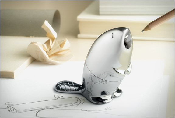 BEAVER PENCIL SHARPENER | BY ALESSI | Image