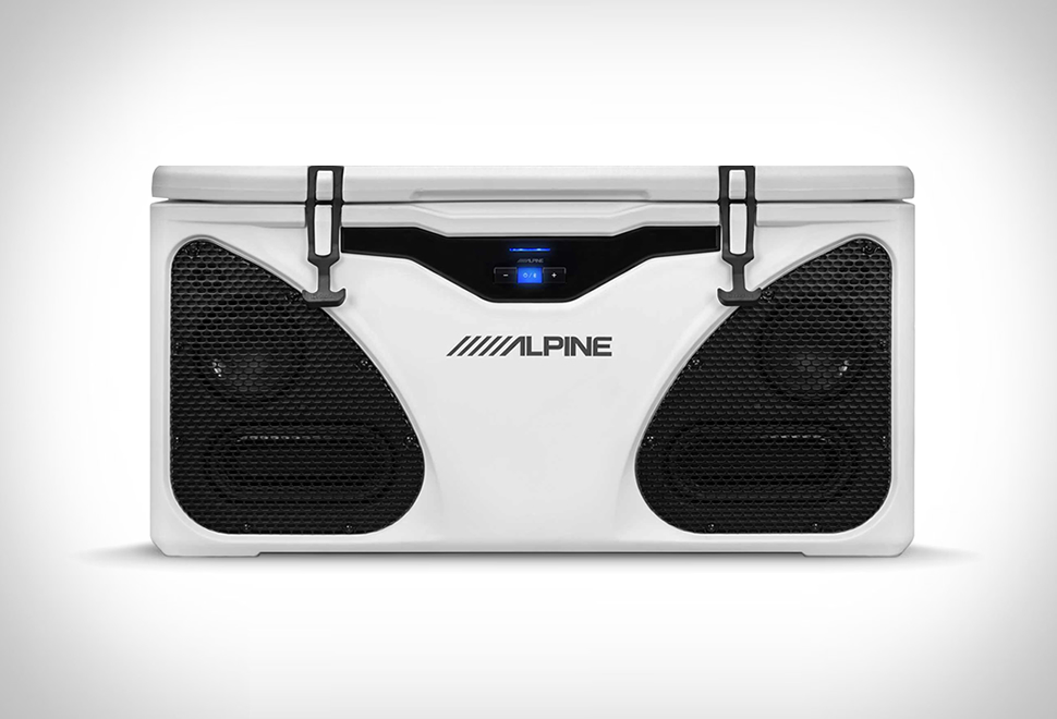Alpine ICE Cooler Entertainment System | Image