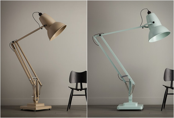 Giant floor lamp by anglepoise - Large anglepoise lamp ...