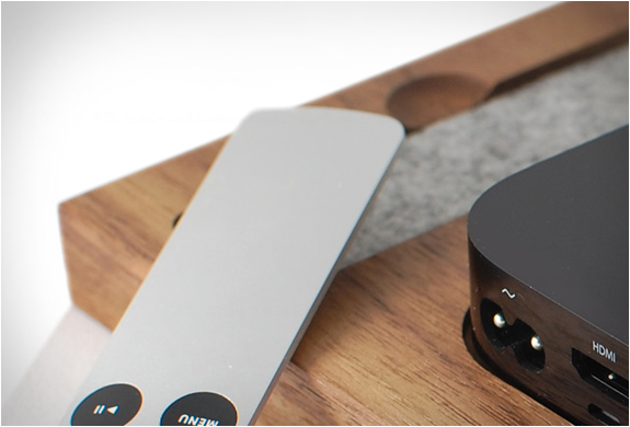 APPLE TV HOLDER | BY TINSEL & TIMBER