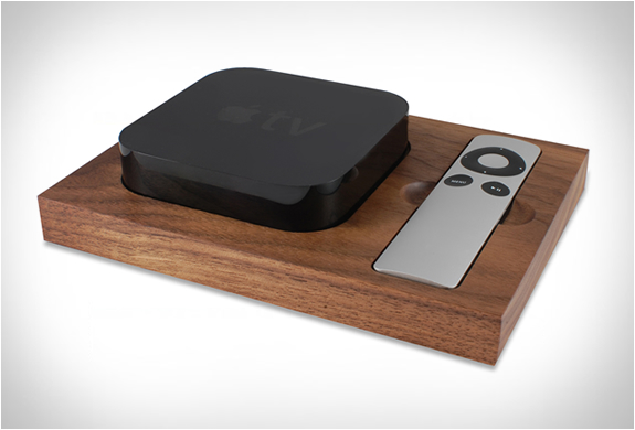 Apple Tv Holder | By Tinsel & Timber | Image