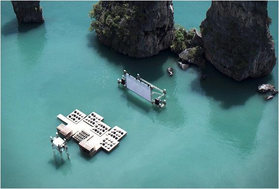 Visita el primer Cine Flotante de Yao Noi en Tailandia