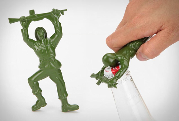 Army Man Bottle Opener | Image