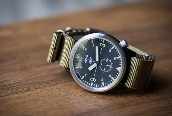 Avi-8 X Worn & Wound Watch | Image