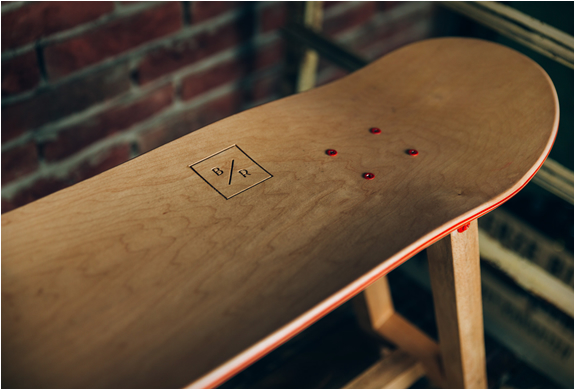 BAKED ROAST | HANDMADE SKATEBOARD FURNITURE | Image
