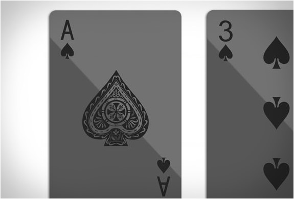 black playing cards by balance wu design. Black Bedroom Furniture Sets. Home Design Ideas