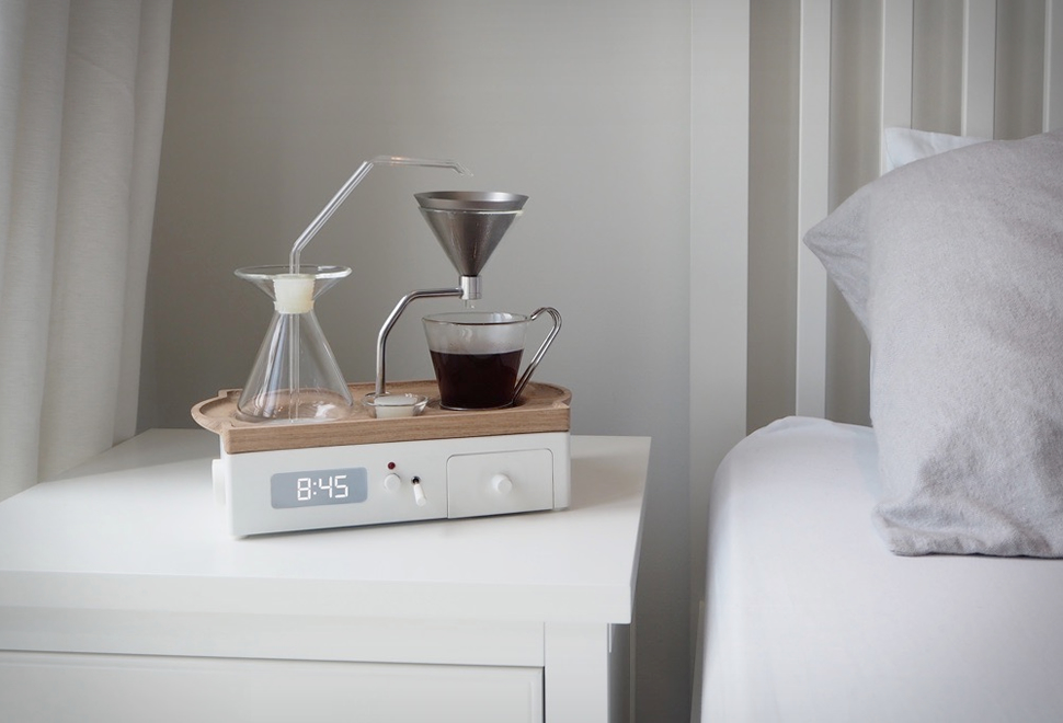 Barisieur Coffee-Making Alarm Clock | Image