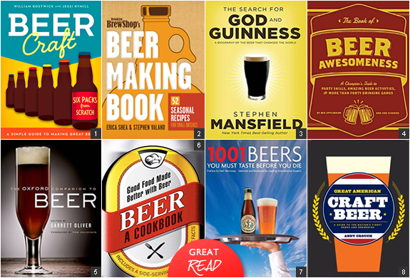 BEER BOOKS | FOR THE BEER FANATIC | Image