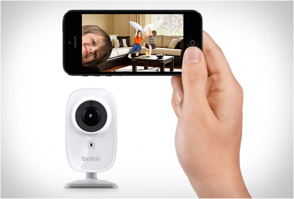 BELKIN NETCAM | NIGHT VISION WIRELESS CAMERA | Image