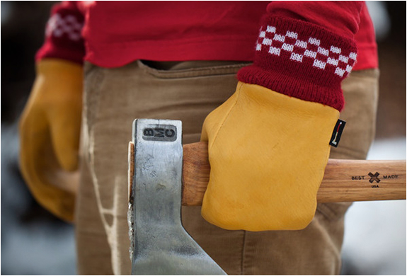 ELKSKIN CHOPPER MITTS | BY BEST MADE COMPANY | Image