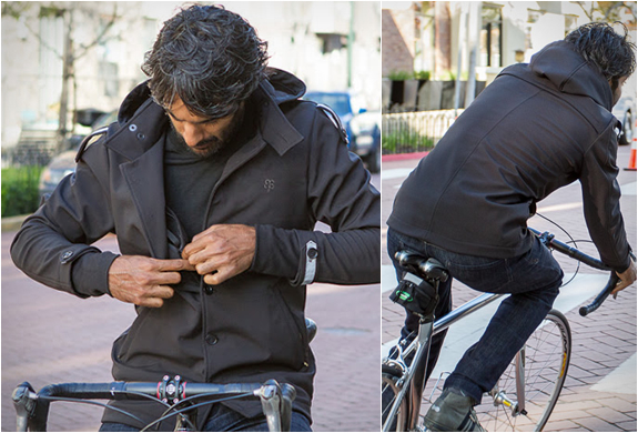 Bike To Work Jacket | By Betabrand | Image