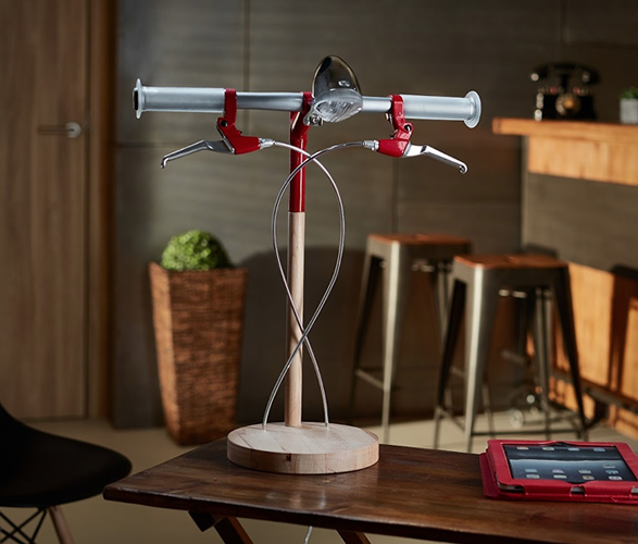 bike desk lamp