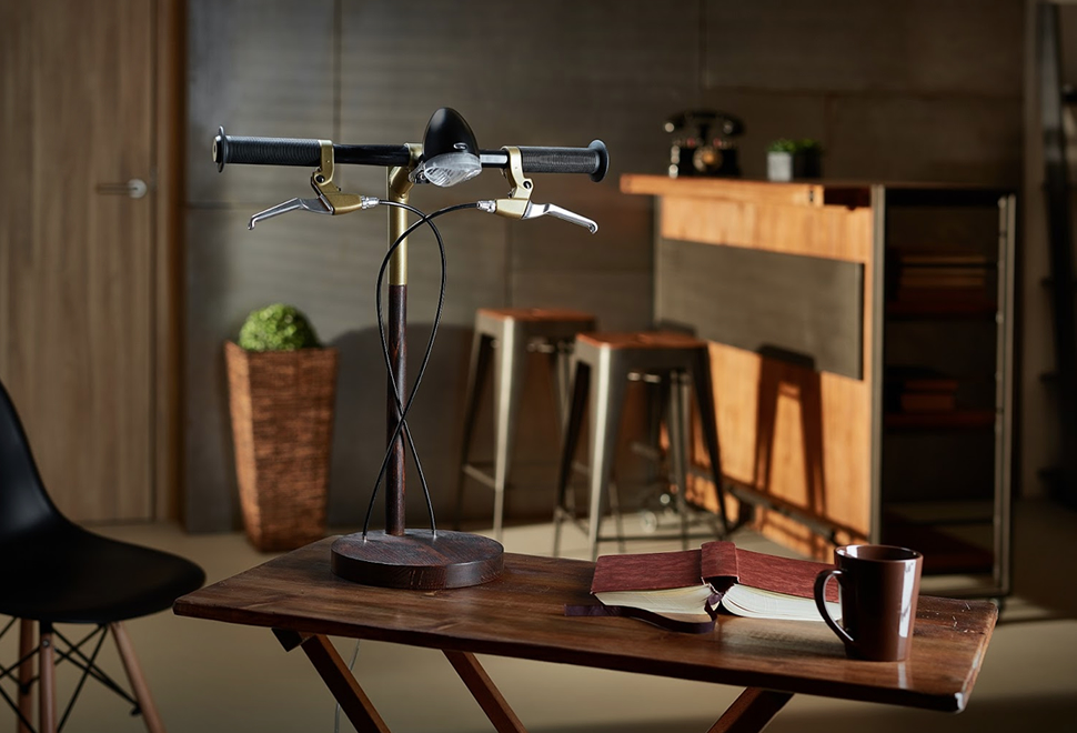 Bike Desk Lamp | Image
