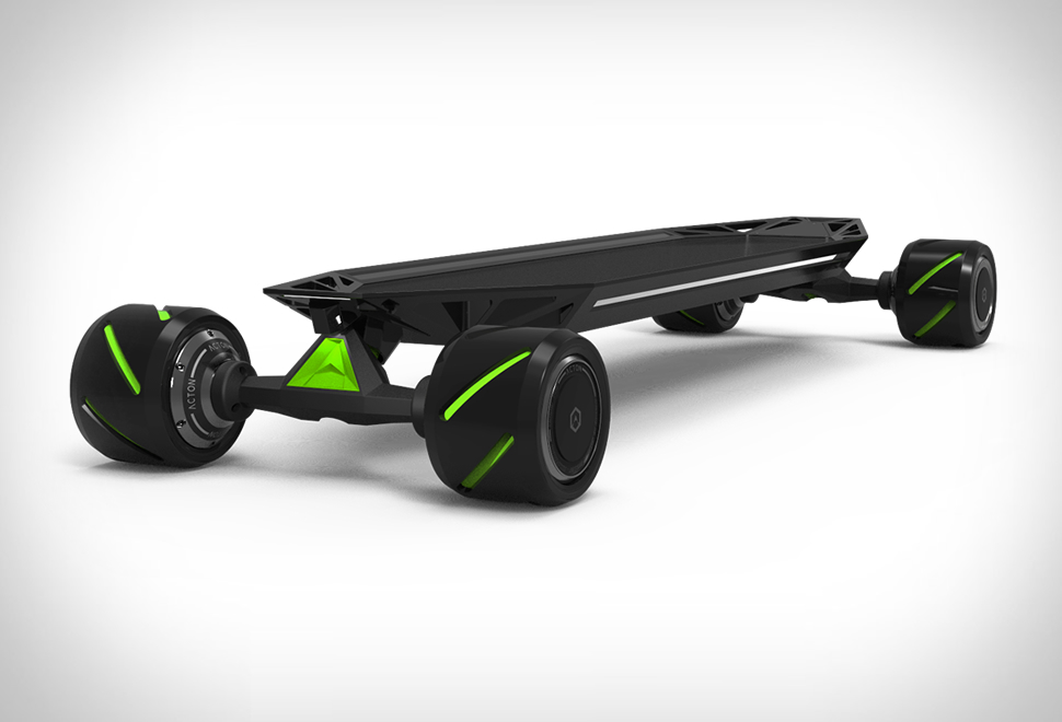 Blink Qu4tro Electric Longboard | Image