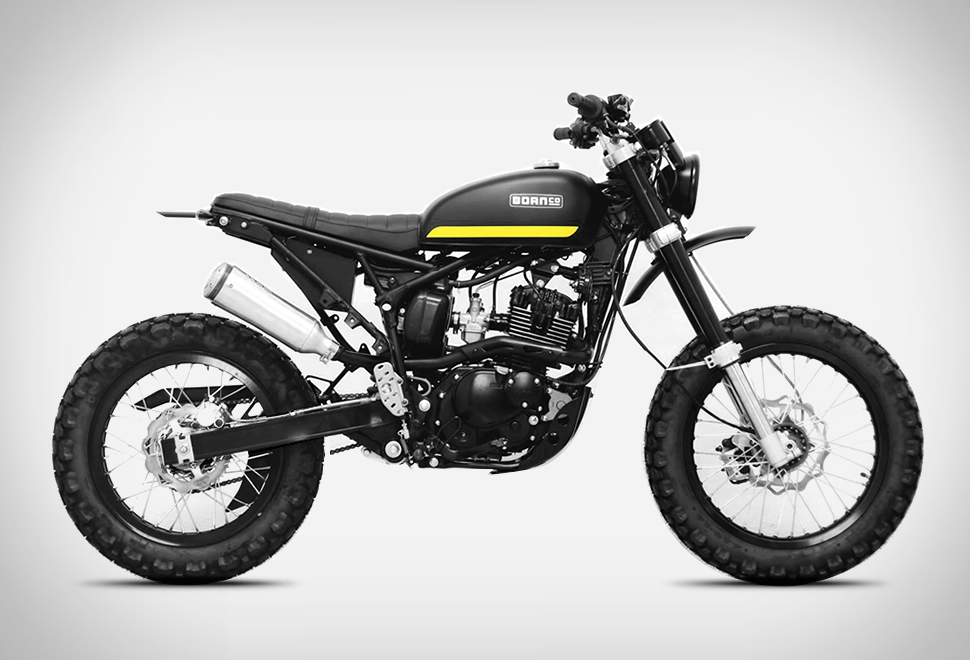 Born Tracker Motorcycle | Image