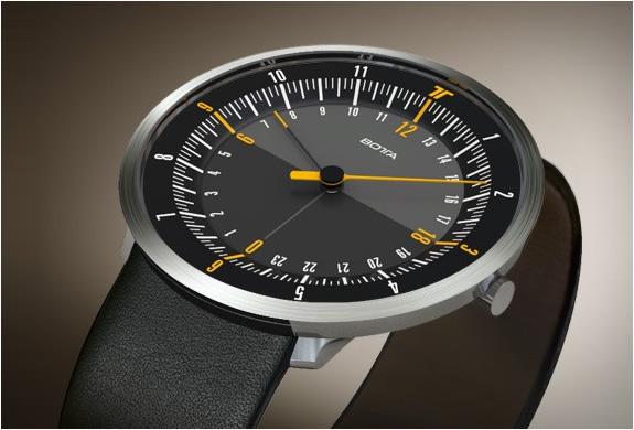 Botta Design Duo 24 | Dual Time Watch | Image