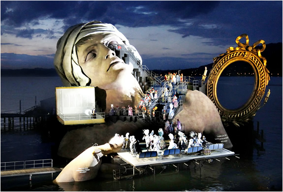 Bregenz Festival Opera On The Lake Austria