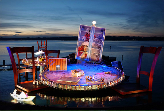 BREGENZ FESTIVAL | OPERA ON THE LAKE  AUSTRIA | Image