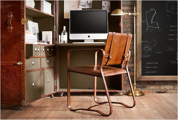 BUCKLE CHAIR | BY RESTORATION HARDWARE | Image