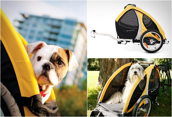 Tail Wagon | Bike Pet Trailer | Image