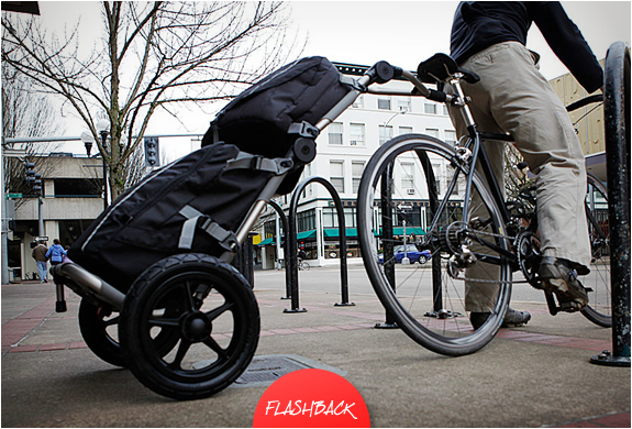 TRAVOY BIKE COMMUTER TRAILER | BY BURLEY | Image