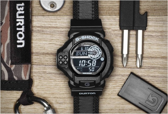 Burton X Casio G-shock Watch | Image