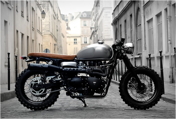 Cafe Tracker | By Vintage Racers | Image
