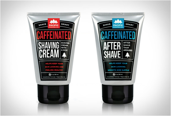 Caffeinated Shaving Set | Image