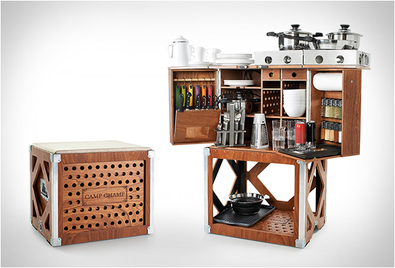 Camp champ for Kitchen set portable