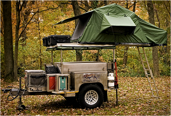 ALL TERRAIN TRAILER | BY CAMPA USA | Image