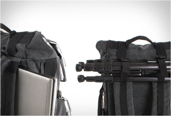 Canvas Camera Backpack | By Careell