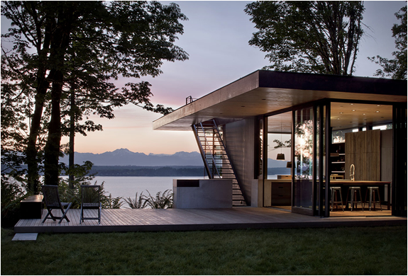 CASE INLET RETREAT | BY MWWORKS | Image