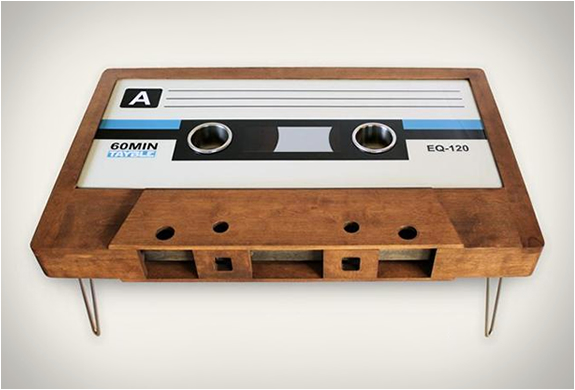 CASSETTE TAPE COFFEE TABLES | Image