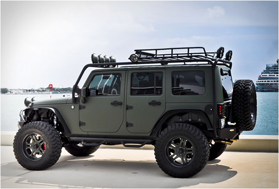 Jeep Wrangler By Cec Wheels