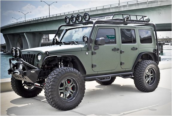 Jeep Wrangler | By Cec Wheels | Image