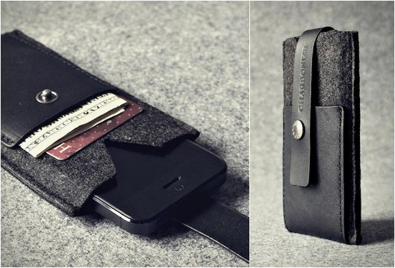 Iphone Wallet Case | By Charbonize | Image